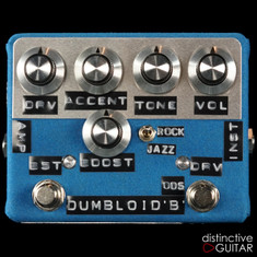 Shin's Music Dumbloid ODS Boost Blue Suede