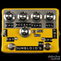 Shin's Music Dumbloid ODS Boost Yellow Tolex