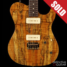 Melancon Custom Artist T Spalted Maple