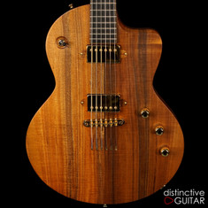 Lowden Guitars GL-10 Electric Figured Koa Top