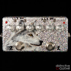 Zvex Double Rock Distortion NAMM Custom Painted D153