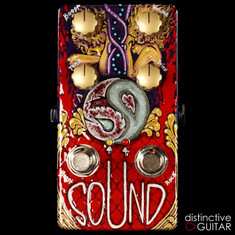 Zvex Vertical 59 Sound Distortion Custom Hand Painted NAMM A004