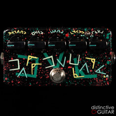Zvex Fat Fuzz Factory Limited Custom Hand Painted NAMM Showpiece N194