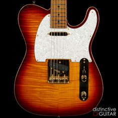 Suhr Classic T Deluxe Limited Edition Aged Cherry Burst JS0Q7U
