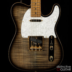 Suhr Classic T Deluxe Limited Edition Trans Charcoal Burst JS7D8N