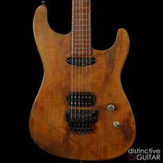 Luxxtone El Machete Real Rust Top w / Floyd Rose