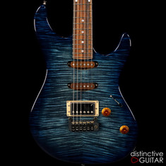 Fibenare Roadmaster FB Ocean Blue Flame NAMM Showpiece