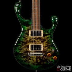 Fibenare Erotic Dalmat Forest Green NAMM Showpiece