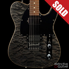 Tom Anderson Top T Shorty Trans Black Quilt