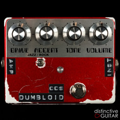 Shin's Music Dumbloid ODS Candy Red Relic'd NAMM Featured