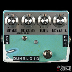 Shin's Music Dumbloid Special Light Blue Relic'd NAMM Featured