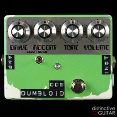 Shin's Music Dumbloid ODS Surf Green Relic'd NAMM Featured