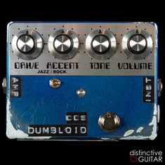 Shin's Music Dumbloid ODS Limited Relic'd Edition Lake Placid Blue