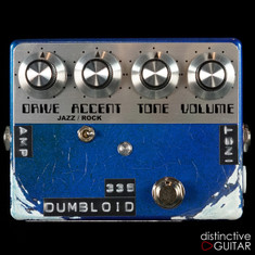 Shin's Music Dumbloid 335 Limited Relic'd Edition Lake Placid Blue