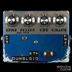 Shin's Music Dumbloid BTM Limited Relic'd Edition Lake Placid Blue