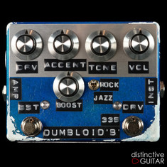 Shin's Music Dumbloid 335 Boost Limited Relic'd Edition Lake Placid Blue