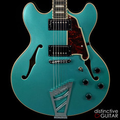 D'Angelico Premier DC Ocean Turquoise