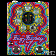 Zvex Fuzz Factory 7 Limited NAMM Custom Painted E182
