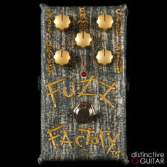 Zvex Vertical Fuzz Factory NAMM Custom Hand Painted A007