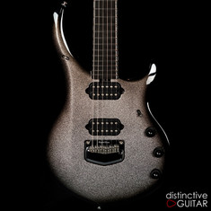 Ernie Ball Music Man Majesty BFR #105 Charred Silver