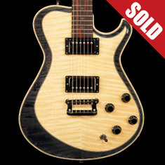 Knaggs T2 Double Purfling Kenai Faded Onyx *SOLD*