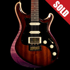 Knaggs Severn T2 HSS Faded Purple Burst