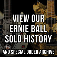 Ernie Ball Music Man Sold History & Custom Order Archive