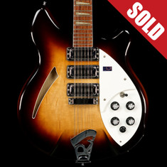 2004 Rickenbacker Model 370/12 Montezuma Brown *SOLD*