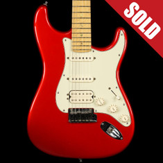 2011 Fender Stratocaster Deluxe Trans Red