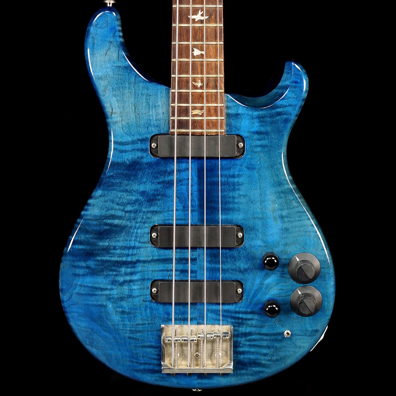 1988 paul reed smith 4 string bass whale blue. Black Bedroom Furniture Sets. Home Design Ideas