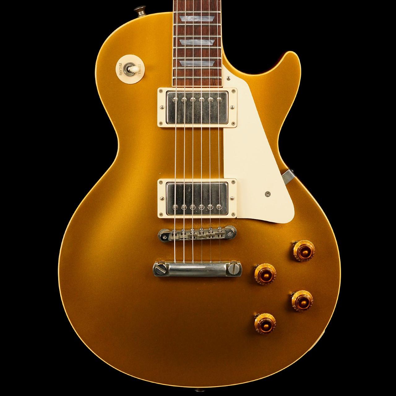 9a1c406b334 2001 Gibson Custom Shop Les Paul 1957 Historic Reissue Goldtop