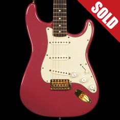1993 Fender Custom Shop Stratocaster 1962 Reissue Burgundy Mist Metallic