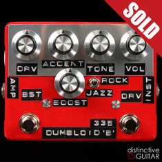 Shin's Music / Dumbloid 335 Special Overdrive W/ Boost Red Velvet