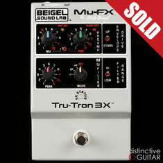 Mu-FX Tru-Tron 3X Analog Envelope Filter Silver