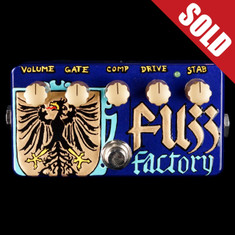 Zvex Custom Painted Vexter Fuzz Factory - L1116
