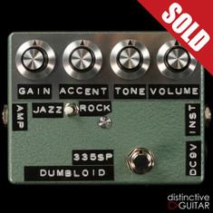 Shin's Music / Dumbloid 335 Special Overdrive Green Hammer