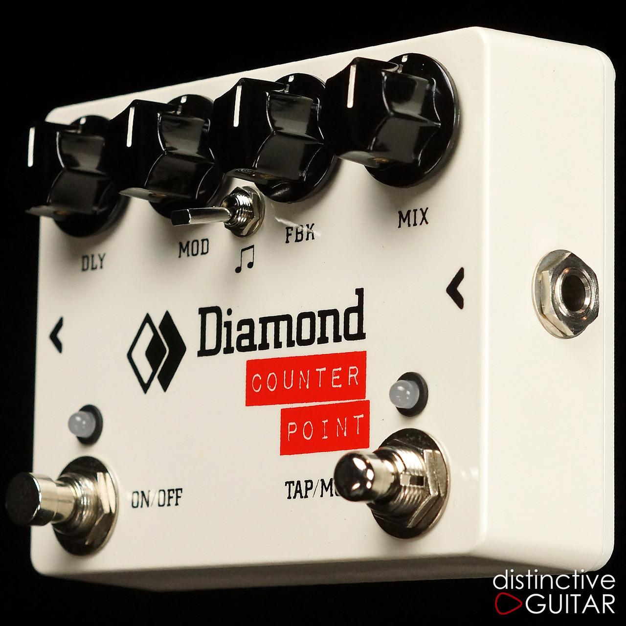 Diamond Counterpoint Tap Tempo Delay 3