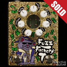 Zvex Custom Painted Fuzz Factory 7 One-Off B112