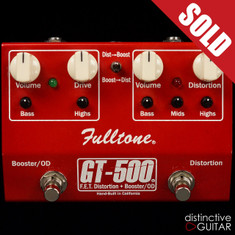 Fulltone FET Distortion + Booster Overdrive Red