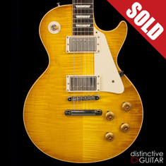 2012 Gibson Custom Shop Les Paul 1958 Historic Reissue Lemonburst