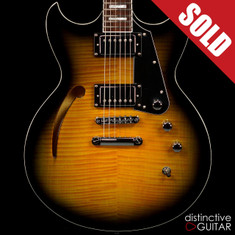 Reverend Manta Ray HB Tobacco Burst