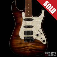 Tom Anderson Drop Top Shorty Light Tiger Eye Burst