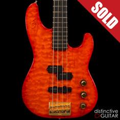 1991 Fender USA Custom Shop 40th Anniversary Precision Bass Quilt Sunburst