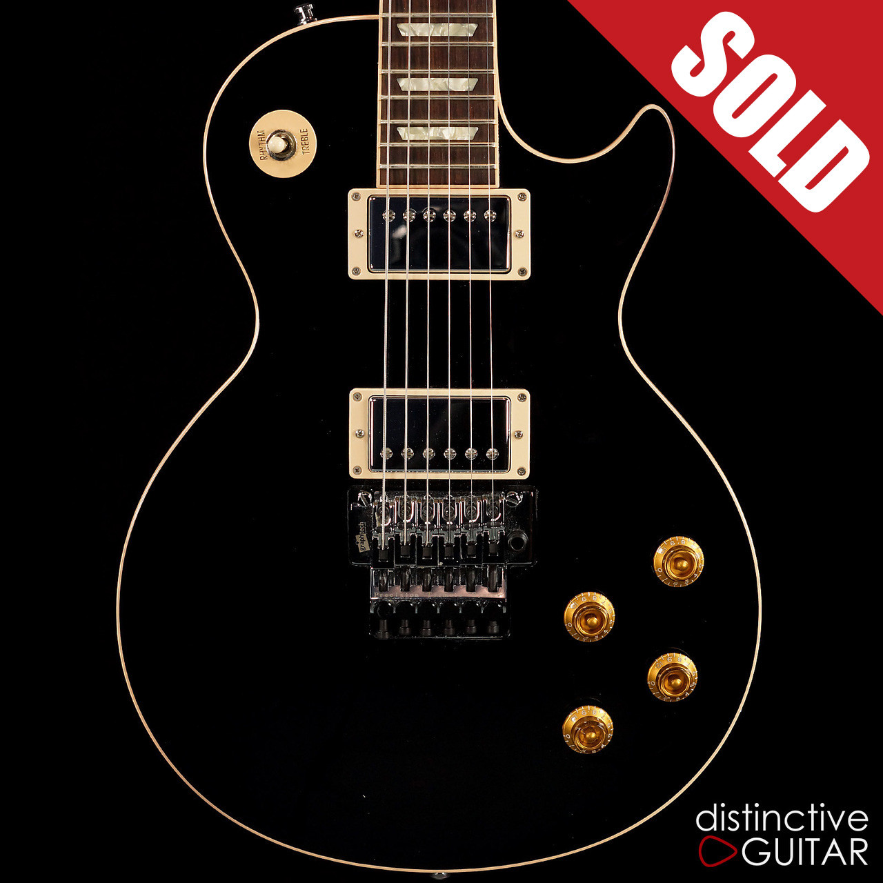 Gibson Les Paul Axcess Alex Lifeson Signature Black