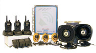 Audio Enhanced Drive Thru System, 3 unit package, Powered by Kenwood