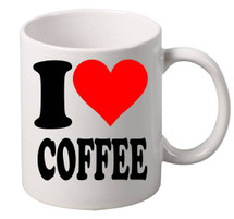 I Love Coffee coffee tea mugs gift