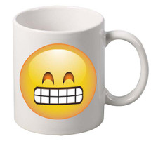 EMOJI Satisfied coffee tea mugs gift