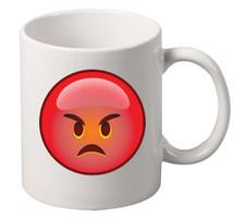 EMOJI Angry coffee tea mugs gift