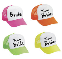 Snapback Hat Set Of 4 Bride And Team Bride Bachelorette party Wedding Bridesmaid