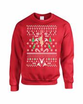 HO HO HO Christmas Stripper Women Sweatshirt